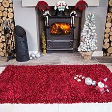 Ontario Wine Red Fireside Fireplace Mantelpiece