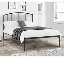 Onyx Anthracite Metal Bed Frame - 3ft Single