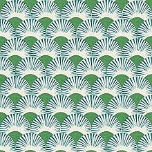 Onzself Fan Green Blue Wallpaper