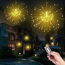Ooklee Firework Garden Lights Battery Operated,