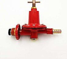 ooloflife Red Gas Reducing Valve, Medium Pressure