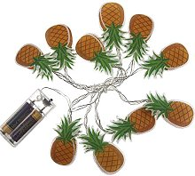 OOTB Pineapple Garland with 10 LED, Plastic,