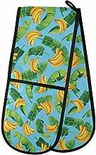 OOWOW Double Oven Glove Tropical Fruit Banana