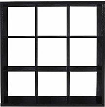 Open Bookshelf with 9 Cubes Storage Cabinet Unit 3
