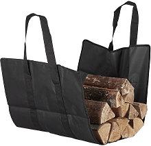 Open Firewood Bag, Polyester, Portable Log Holder