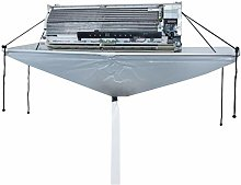 Open PVC Air Conditioner Wash Cleaning Cover