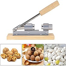 Opener Tool for Pecans, Mechanical Walnut Cracker