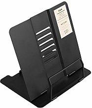 Opfury Multifunctional Metal Book Stand Portable