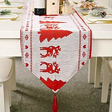 OPM Christmas Embroidered Table Runner Xmas Table