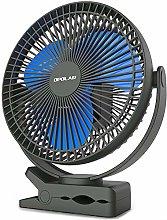 OPOLAR 10000mAh 8-Inch Golf Cart Clip on Fan,