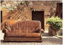 Oporto Genuine Italian Sofa Settee