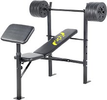 Opti Bench with 30kg Weights