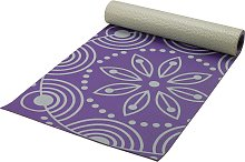 Opti Floral 6mm Thickness Printed Yoga Exercise Mat