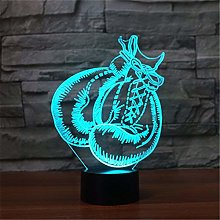 Optical Illusion 3D Boxing Gloves Night Light 7