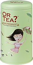 Or Tea Organic Merry Peppermint Tin Canister