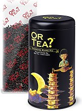 Or Tea Towering Kung Fu Tin Canister