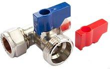 Oracstar 15mm x 15mm x 3/4' Tee Valve Plumbing