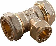 Oracstar Compression Reducing Tee 22mm x 22mm x
