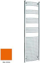 Orange 1800mm x 500mm Curved 22mm Towel Rail -