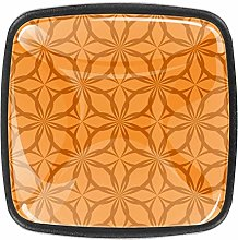 Orange [4 PCS]Decorative Cabinet Wardrobe