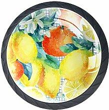 Orange and Lemon Fruit Cabinet Door Knobs Handles