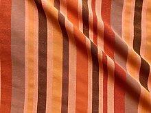 Orange Brown Striped Dress Home Decor Light