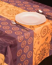 Orange Garden Decorative Tablecloth Placemats with