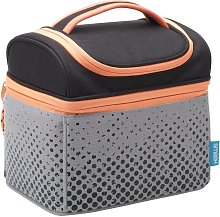 Orange & Grey Tall Tool Lunch Bag