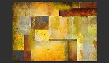 Orange Hue of Art Expression 210cm x 300cm
