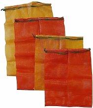 Orange Mesh Log Bag (50 x 70) x 200 - Forest Master