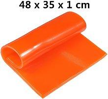 Orange Motorcycle Seat Gel Cooling Pad Summer