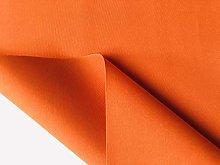 Orange Plain DRALON Outdoor Fabric Solid Acrylic