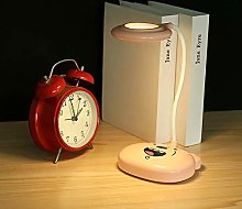 Orange Touch Three-Speed Dimming Table Lamp USB