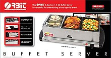 ORBIT 3 Pan Buffet Server Warmer 3 x 1.5L (QTS)