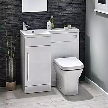 Orbit Lili Bathroom Furniture Pack with Basin and