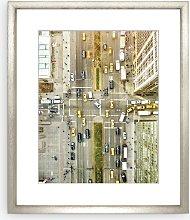 Orbon Alija - Park Avenue New York Framed Print &