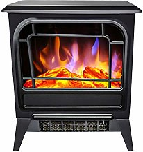 Orchidtent Electric Fireplace Stove Heater with