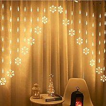 Orderking LED Window Curtain String Light,