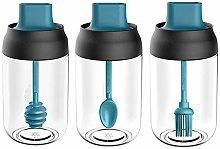 Ordertown 3Pcs Salt Spice Bottle Oil Dispenser