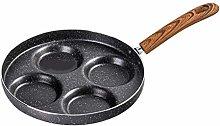 ORETG45 Aluminum 4-Cup Egg Frying Pan, Non Stick
