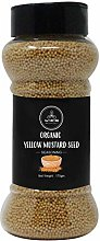 Organic Yellow Mustard Seed (170gm) by Naturevibe