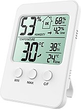 Oria Digital Hygrometer Thermometer, Temperature