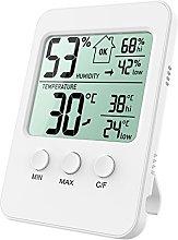 Oria Digital Hygrometer Thermometer, Temperature