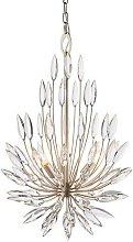 Orianna - Pendant Champagne Paint & Crystal (K5)