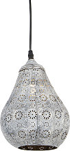 Oriental hanging lamp gray - Billa Dia