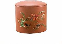 Oriental Purple Sand Storage jar is Used for