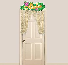 Oriental Trading Aloha Door Curtain