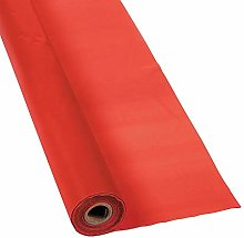 Oriental Trading Companyred Tablecloth Roll -