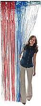 Oriental Trading Patriotic Door Curtain for Fourth