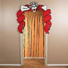 Oriental Trading Ragged Ship Door Curtain